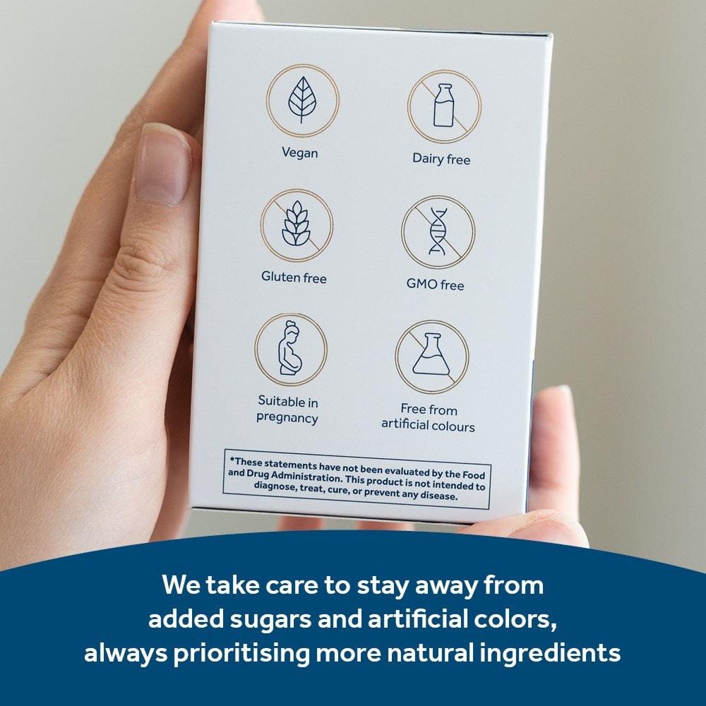 Dietary information of Optibac Probiotics Every Day MAX