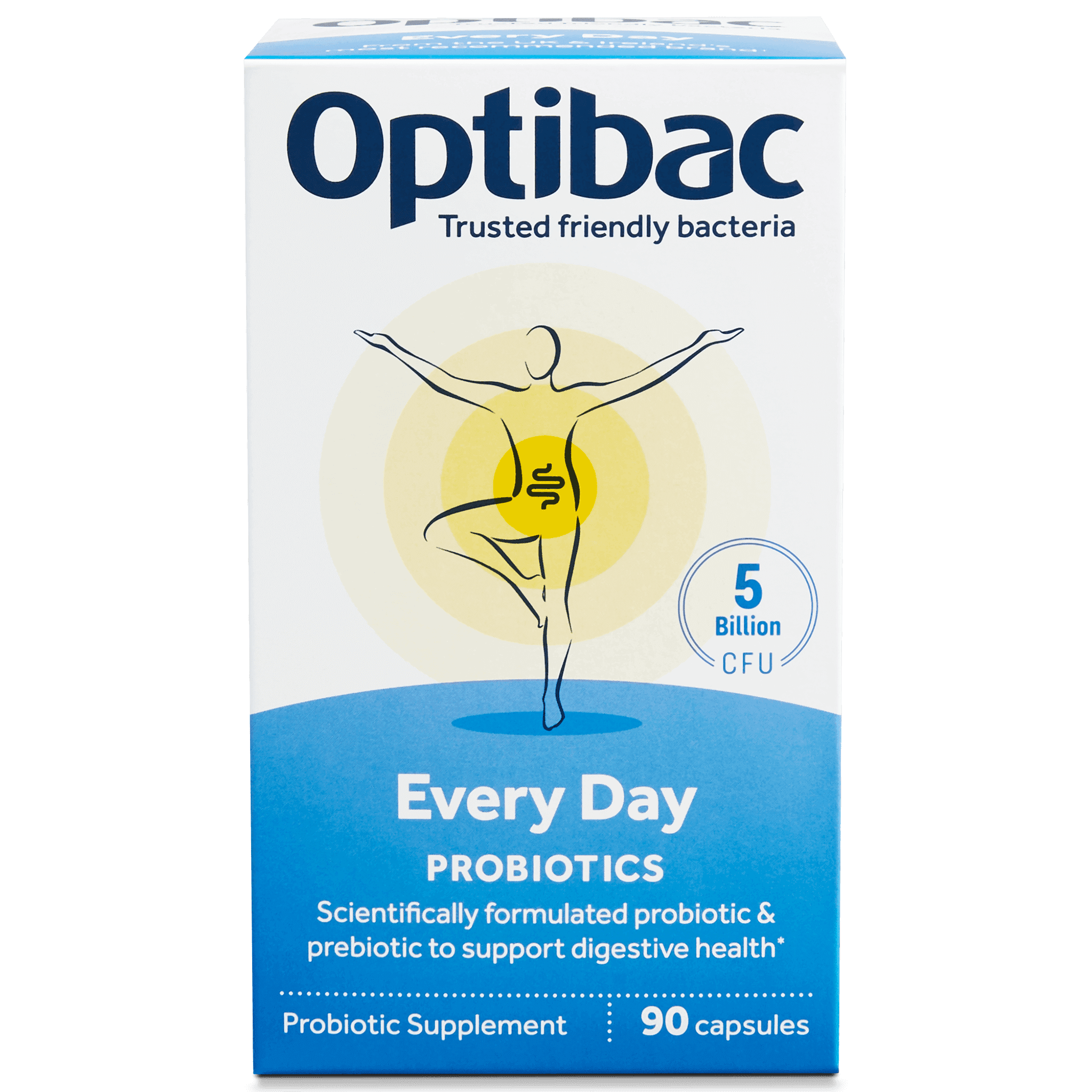 Optibac Probiotics Every Day (90 capsules) pack front
