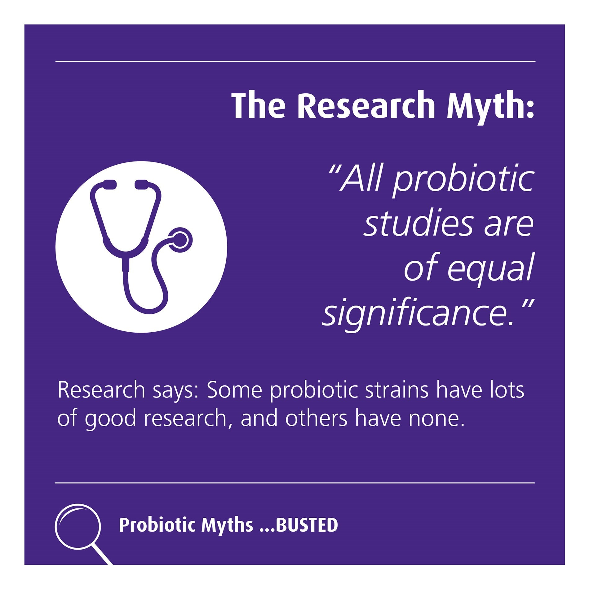 The research myth