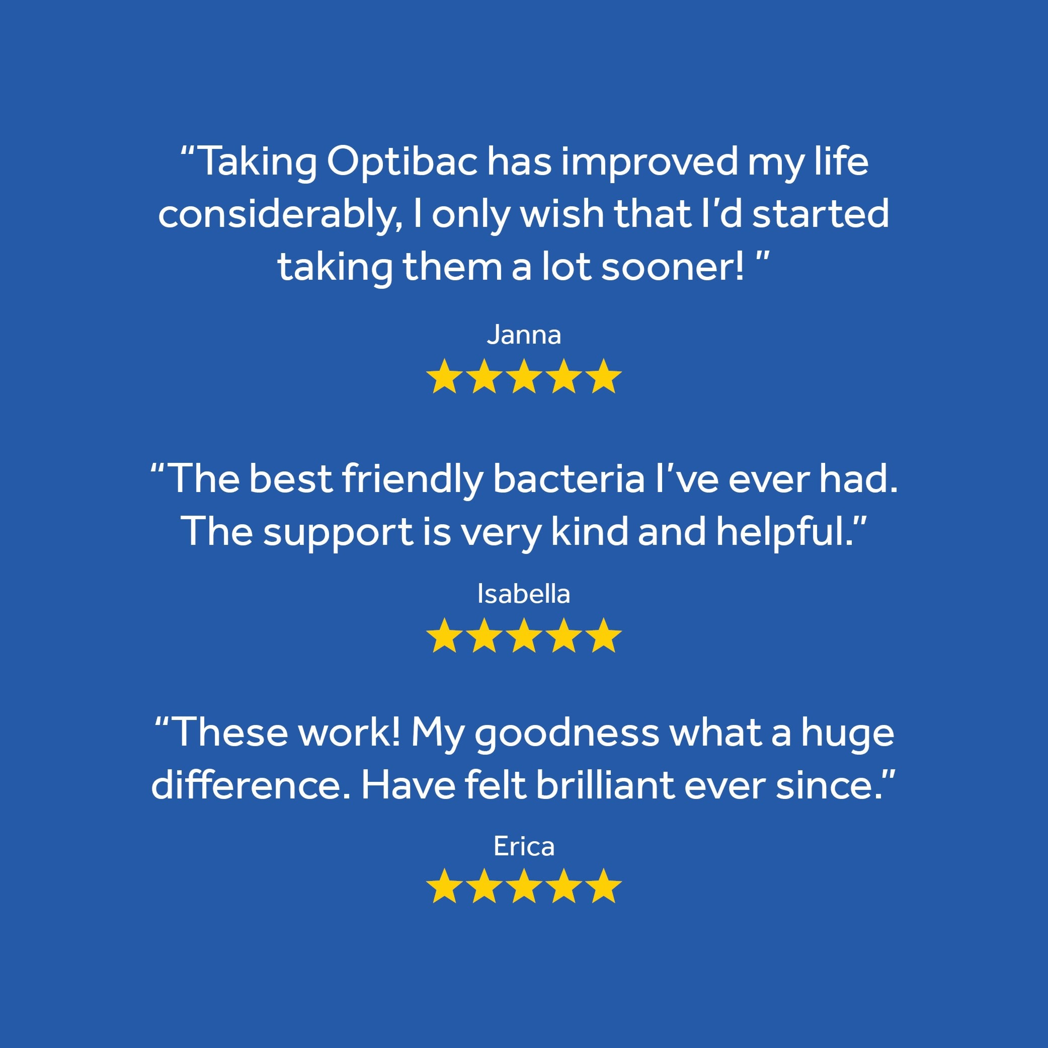 Great reviews of Optibac Probiotics Every Day EXTRA