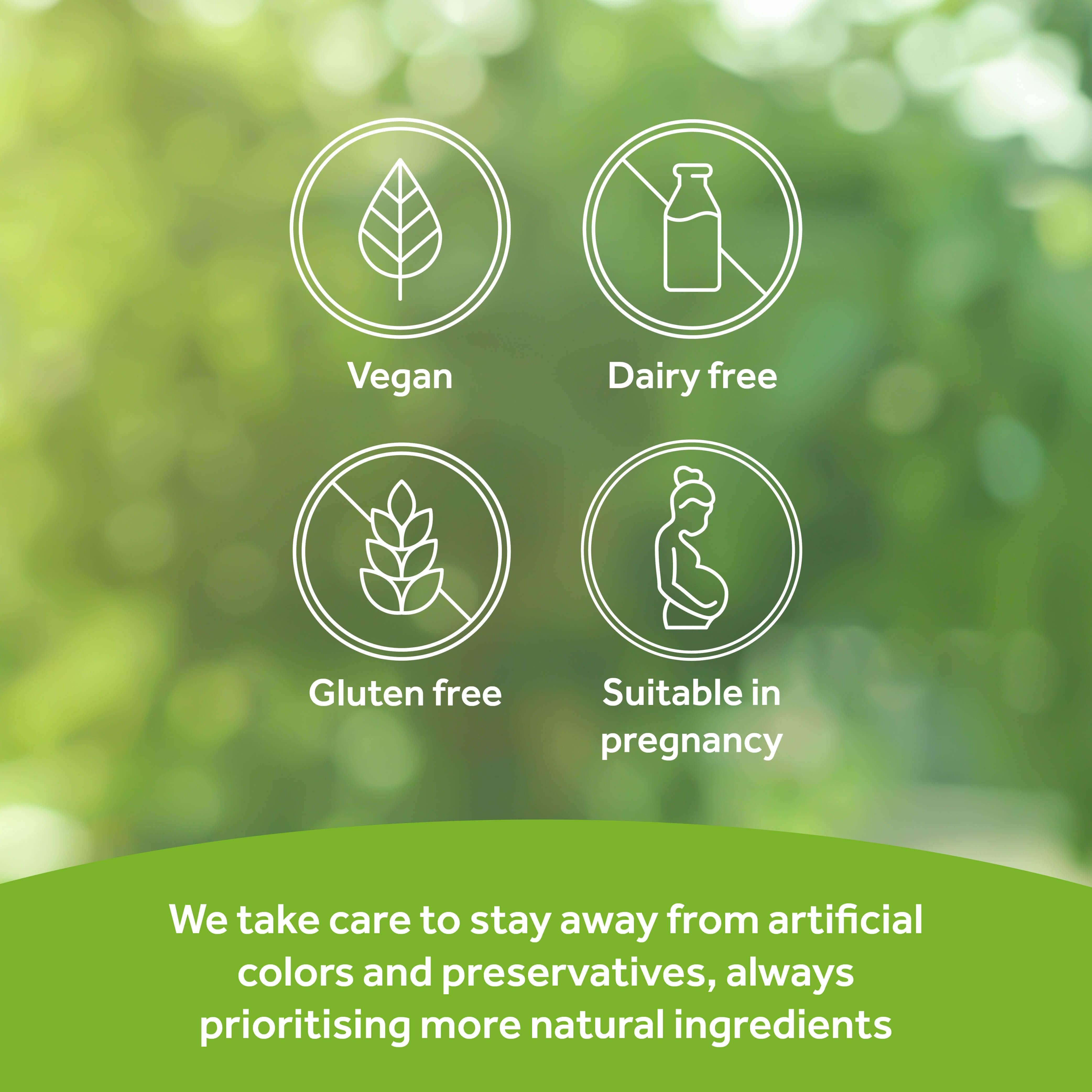 Optibac Probiotics Bifido & Fibre dietary information