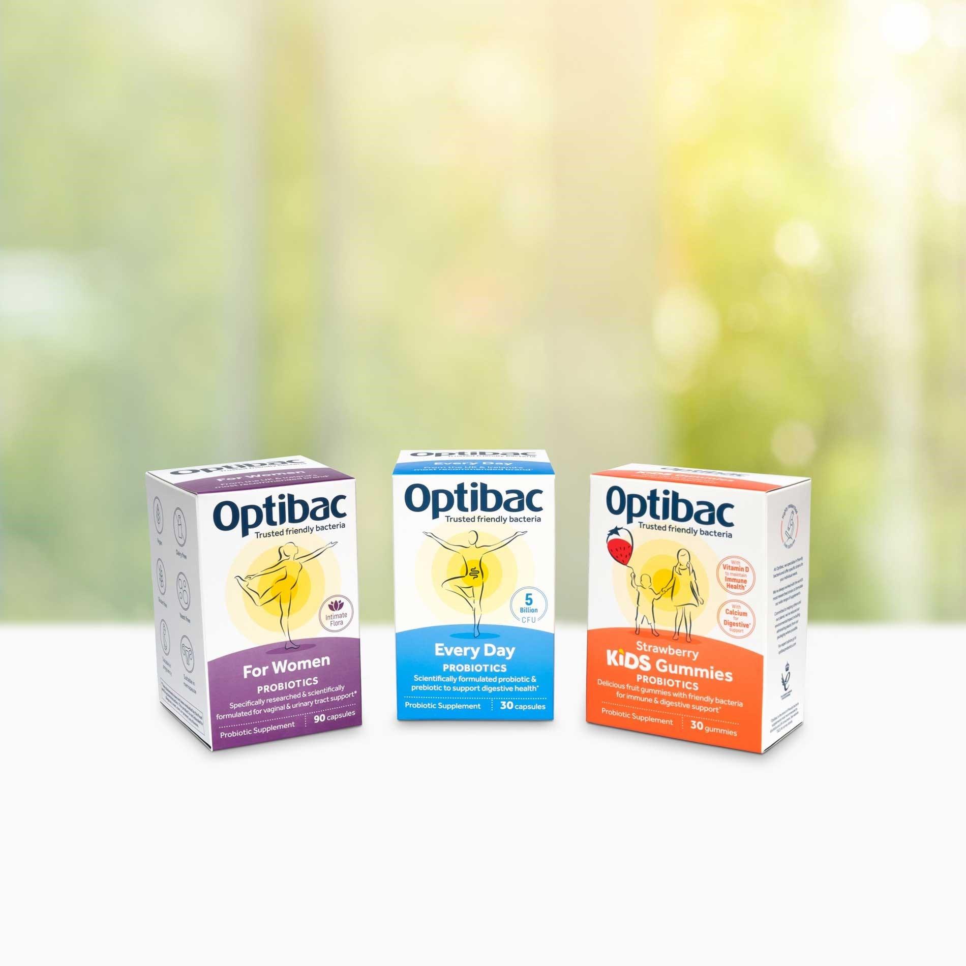 Optibac probiotics range