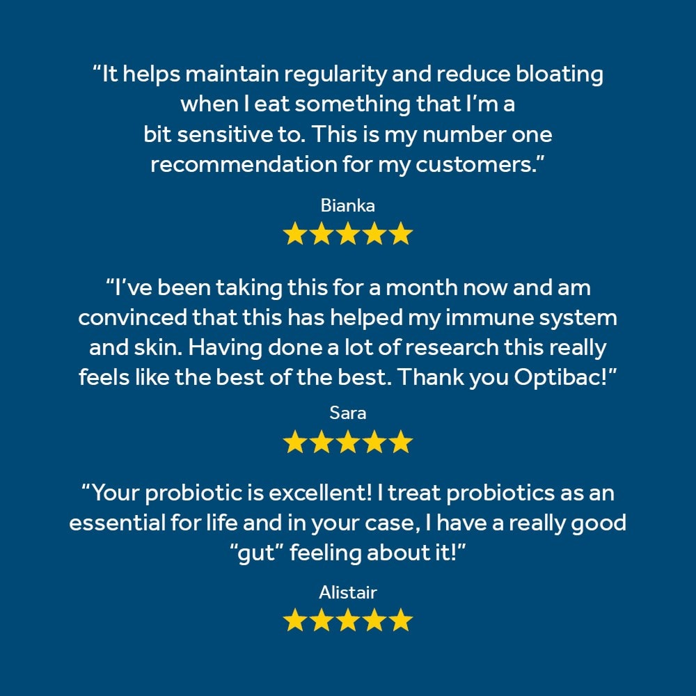 Great reviews of Optibac Probiotics Every Day MAX