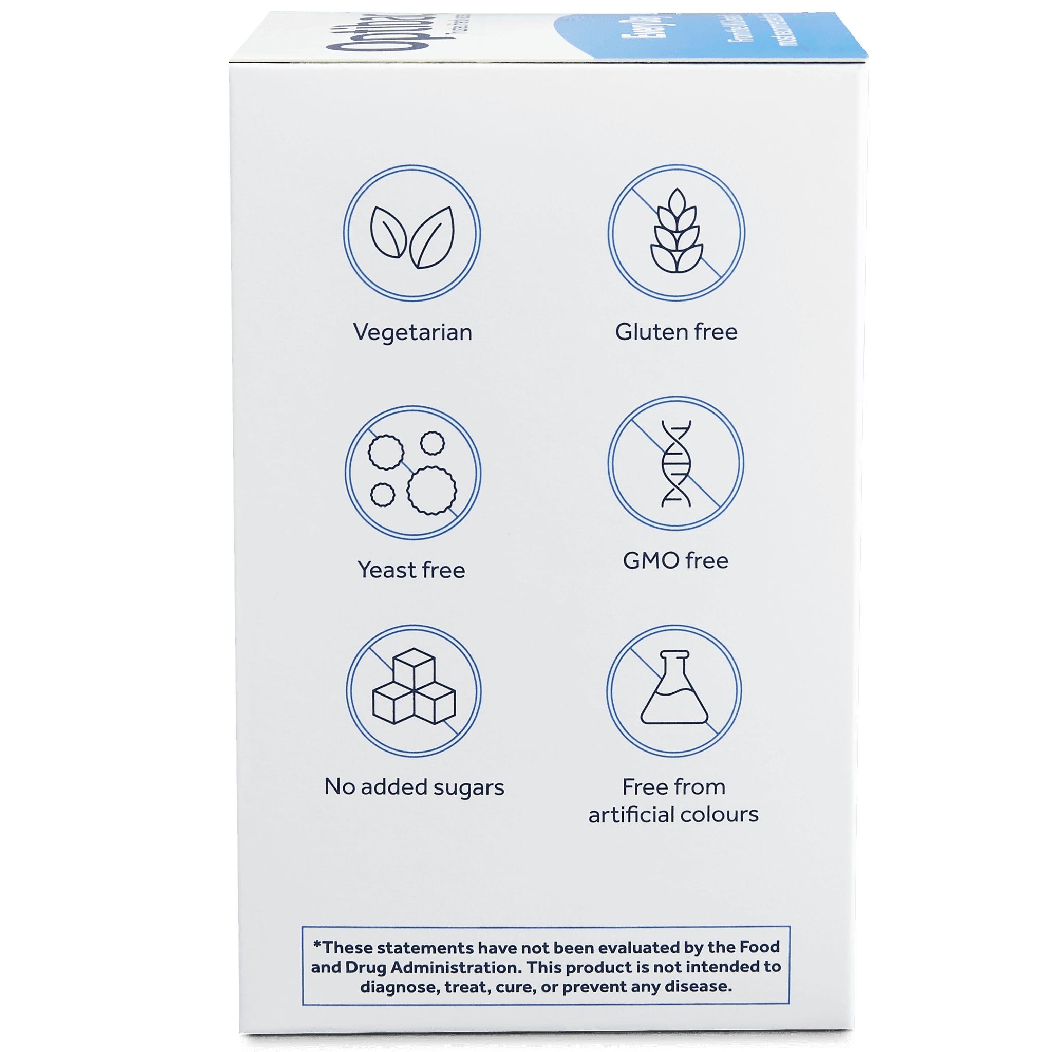 Optibac Probiotics Every Day (90 capsules) pack side shot
