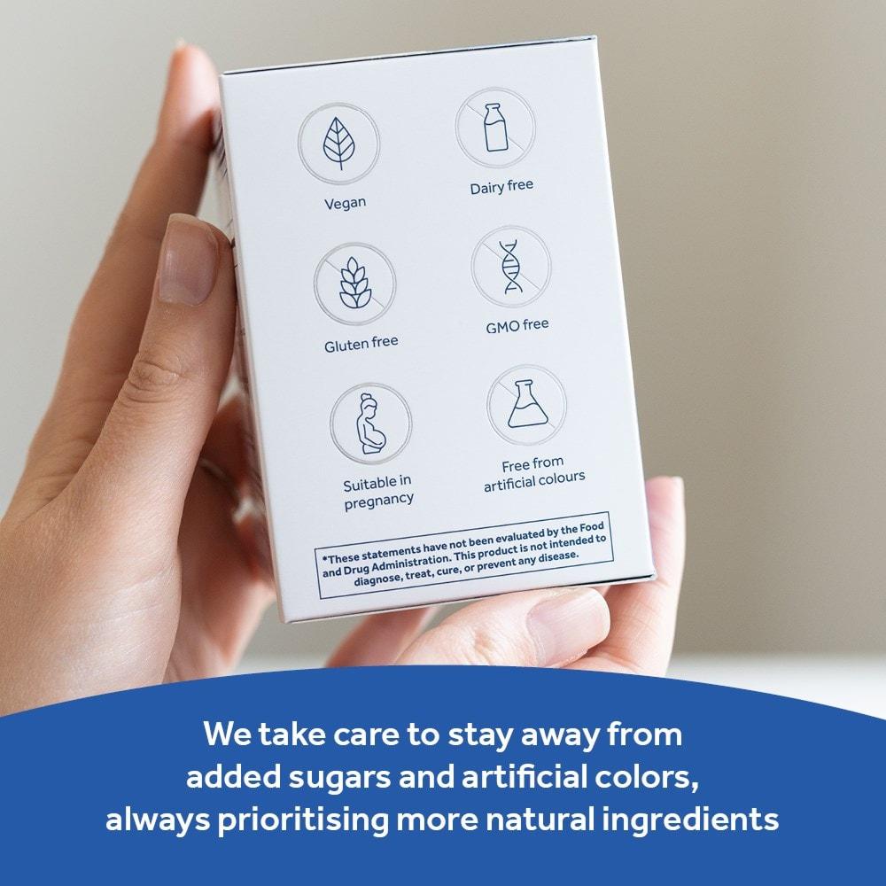 Dietary information of Optibac Probiotics Every Day EXTRA