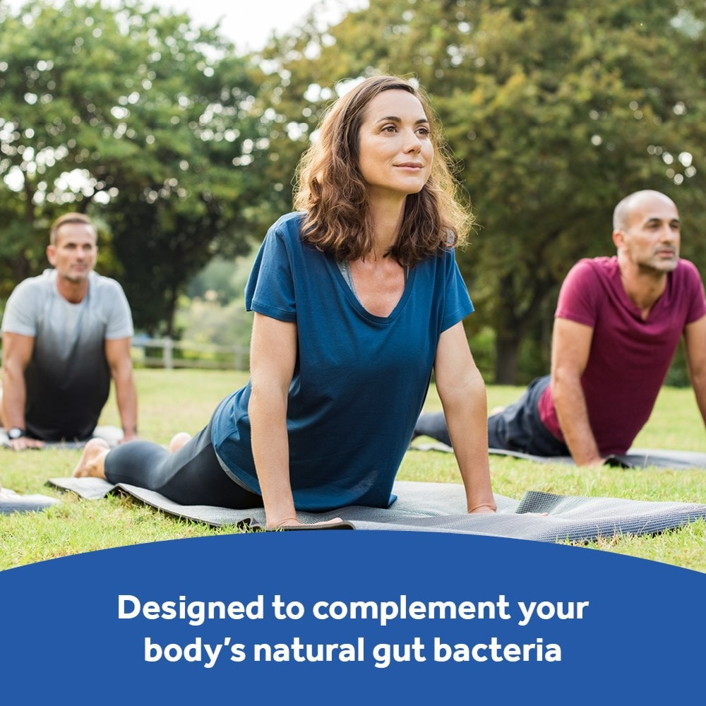 Optibac Probiotics Every Day EXTRA complements gut bacteria
