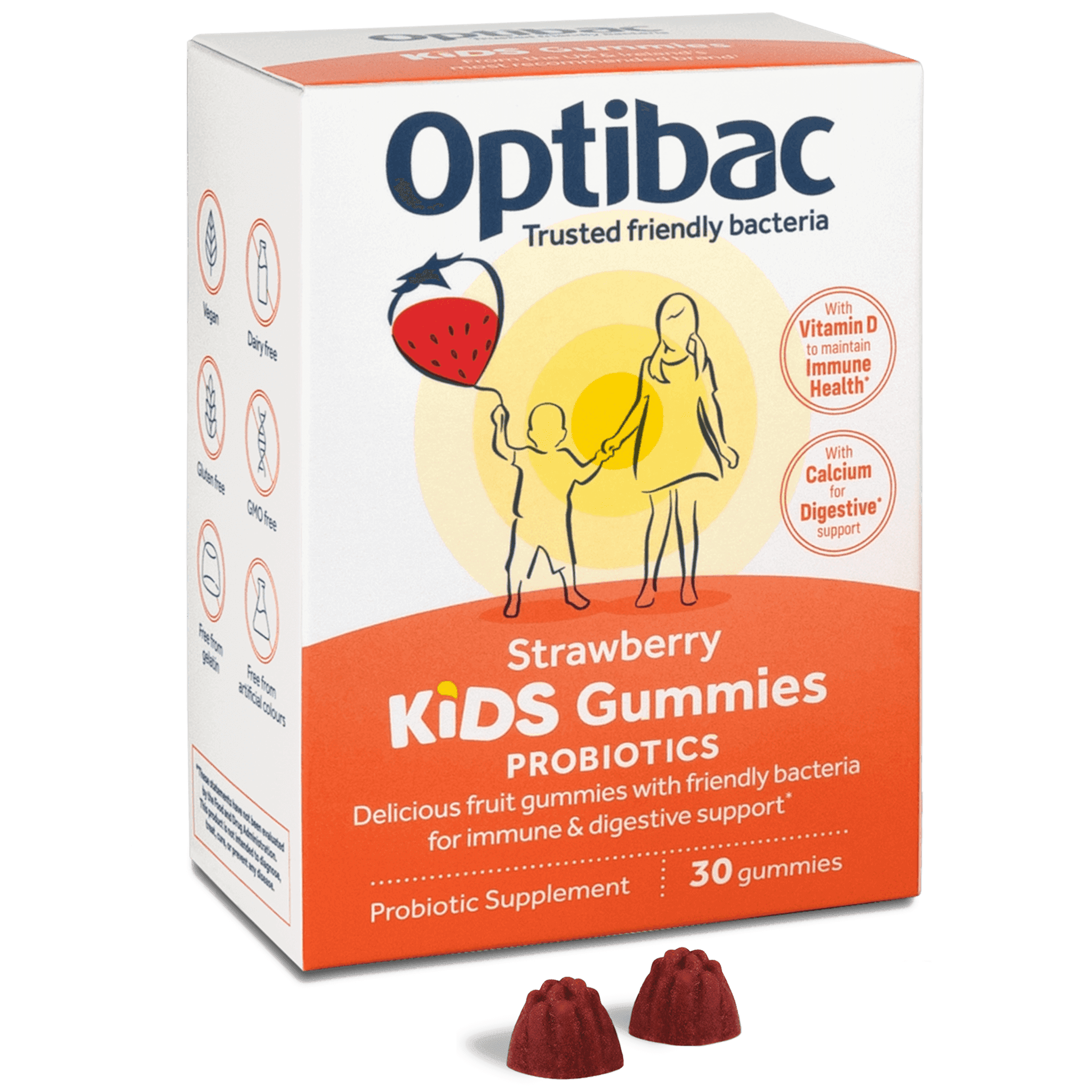 Optibac Probiotics | Kids Gummies | gummies | 30 gummies
