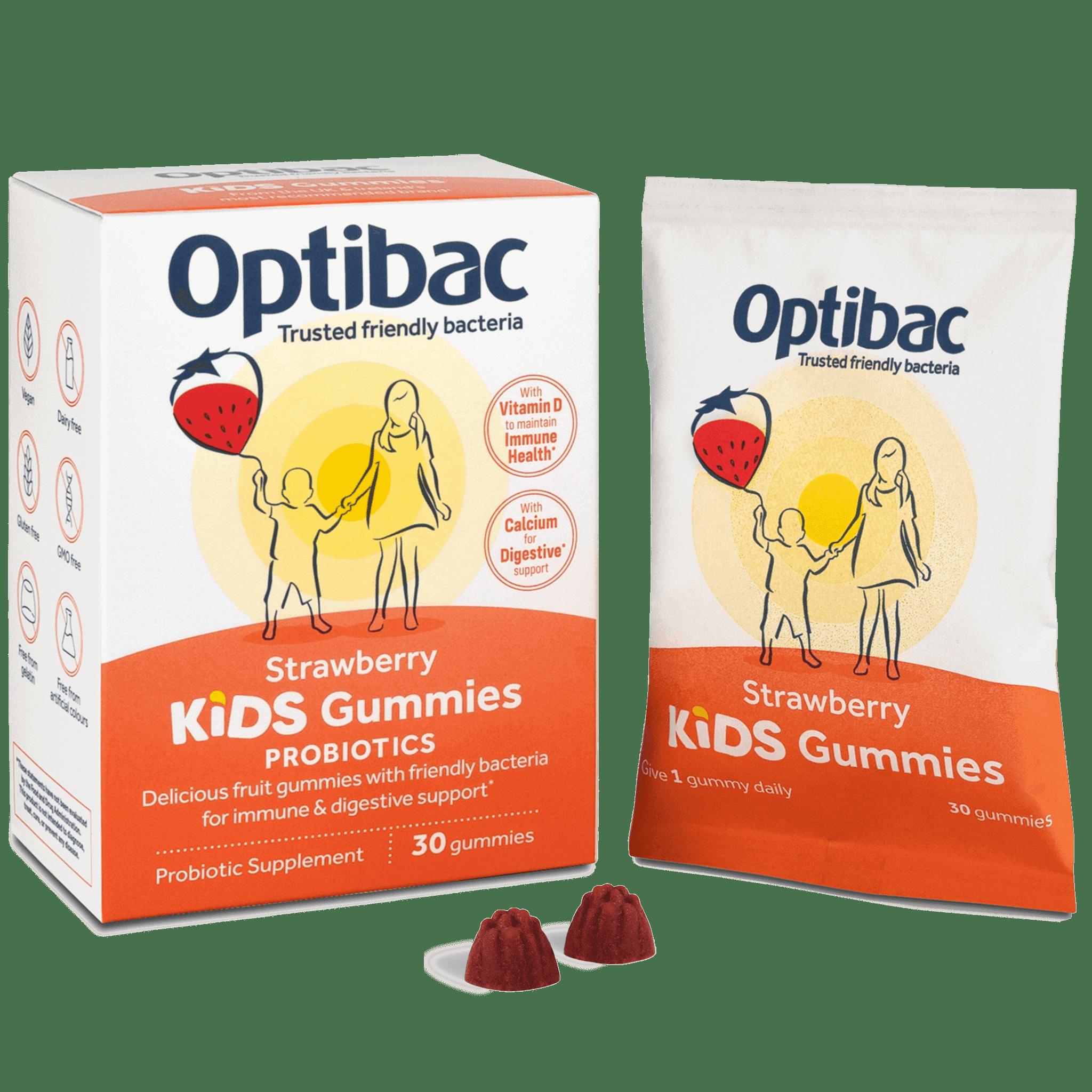 Optibac Probiotics | Kids Gummies | contents | 30 gummies