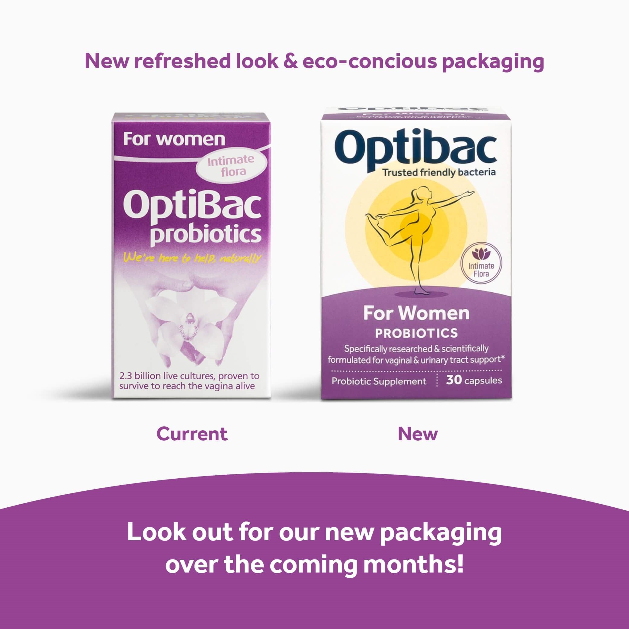 Optibac Probiotics For Women proven to reach vagina
