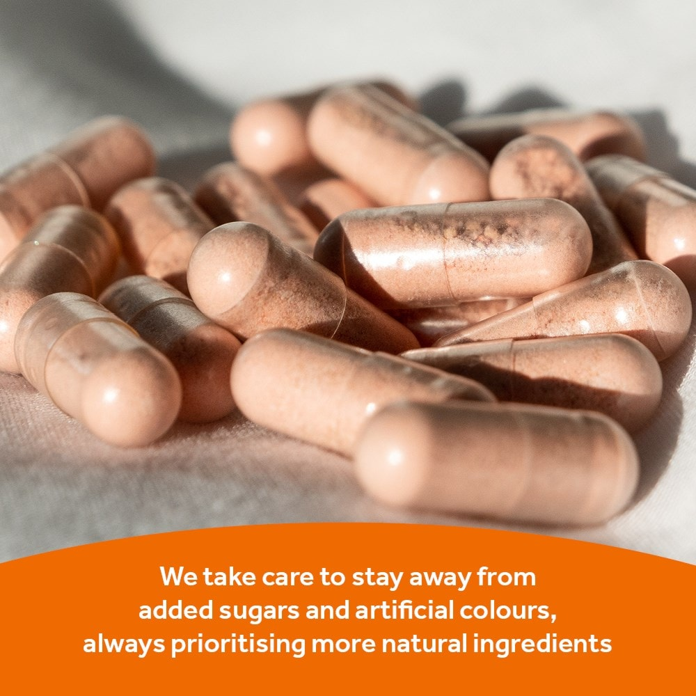 Optibac Probiotics Immune Support no added sugars