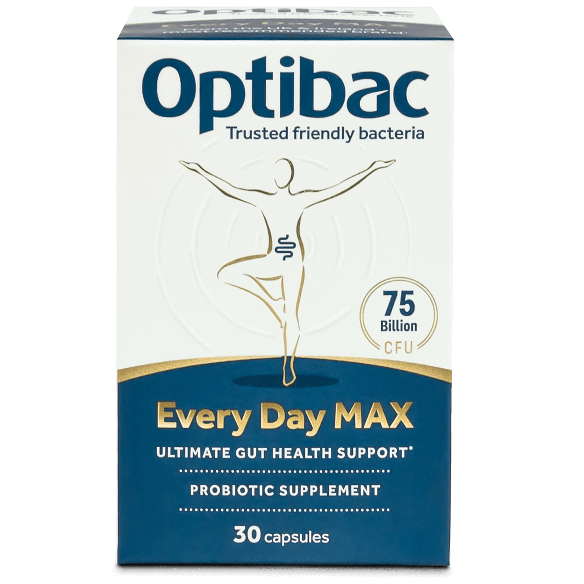 Optibac Probiotics | Every Day MAX | front of pack | 30 capsules