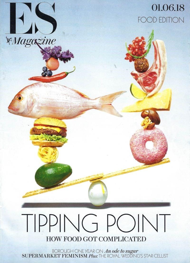 es magazine front cover