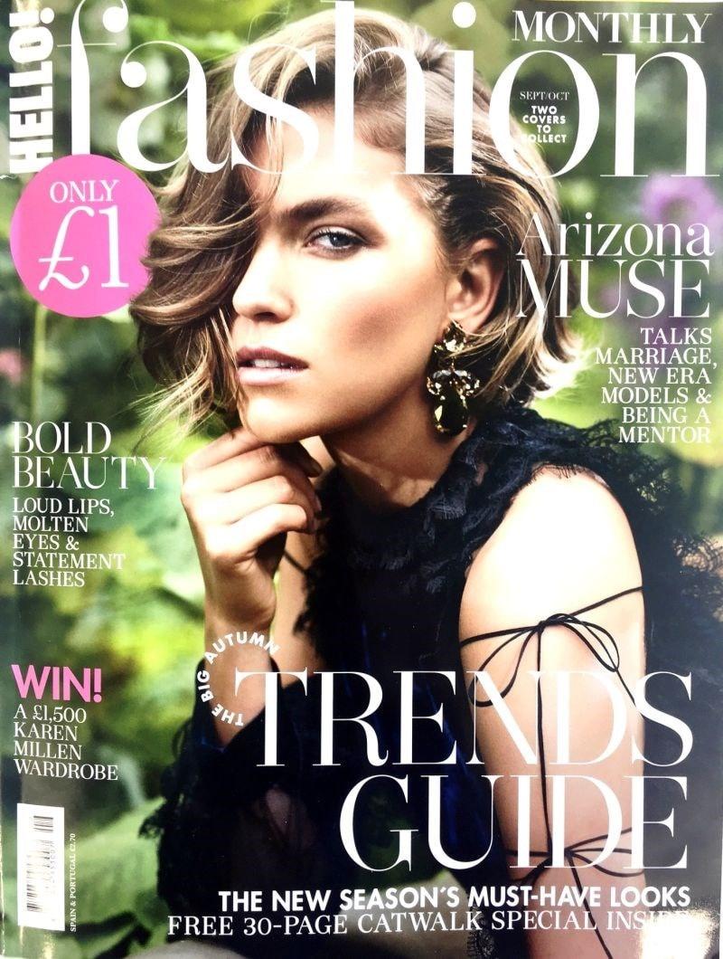 hello fashion magazine cover