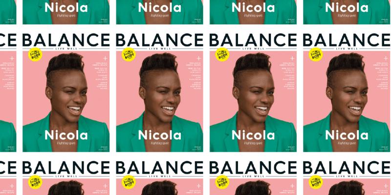 balance magazine front covers