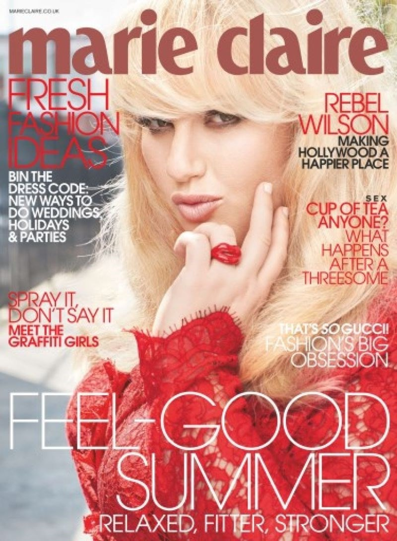 marie claire front cover