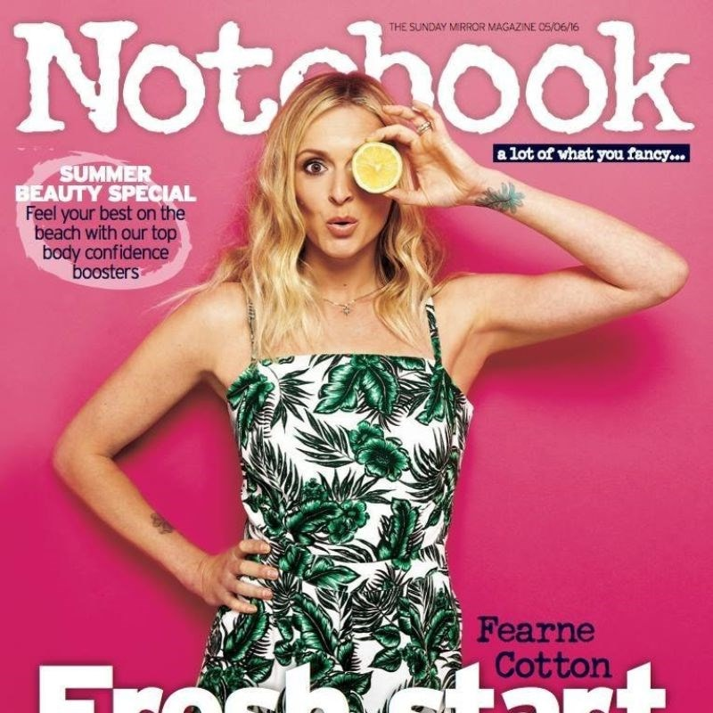 notebook magazine front cover
