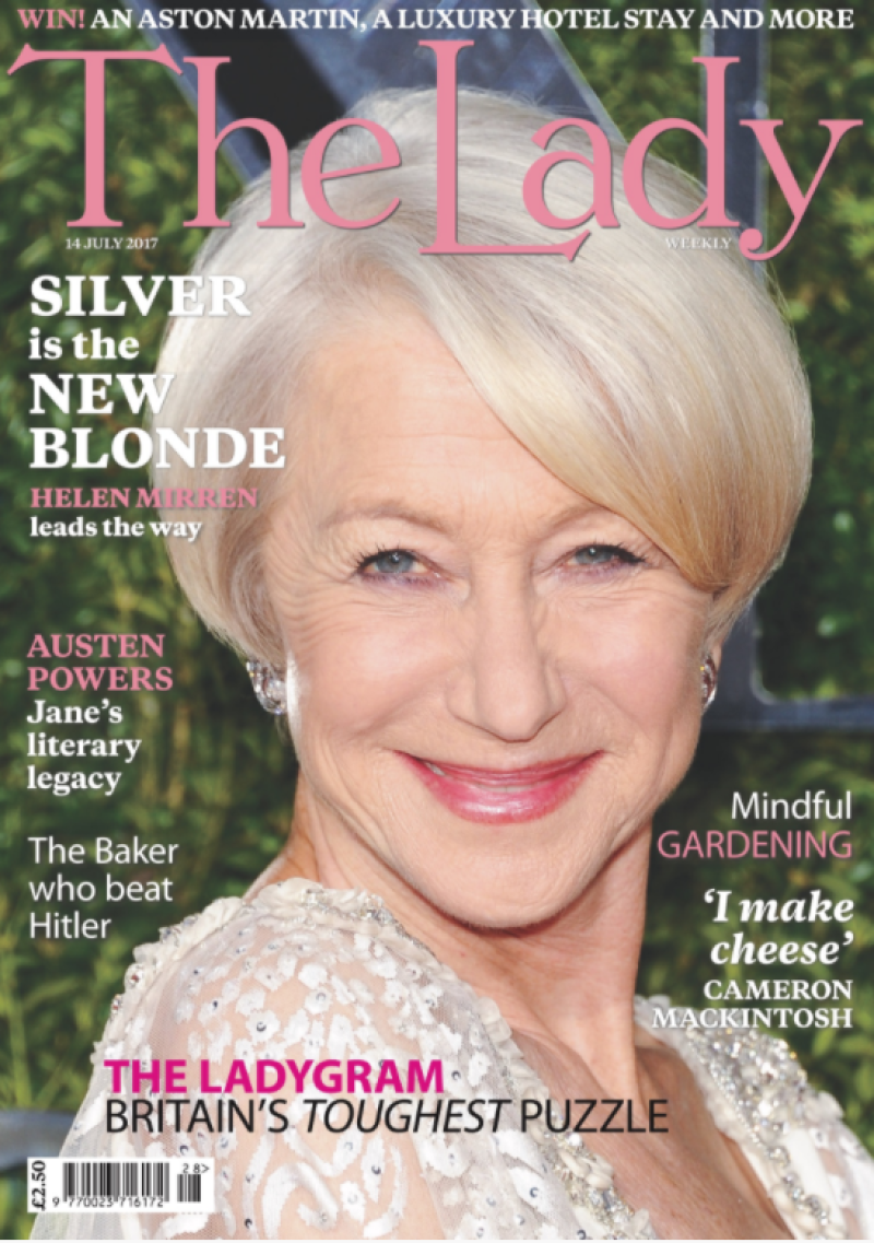 the lady weekly cover page