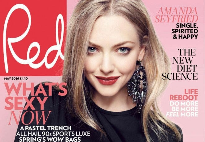 Red Magazine cover page
