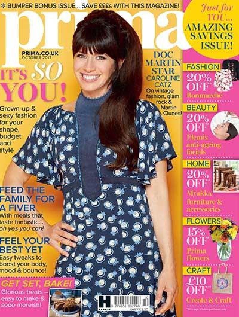 prima magazine front cover