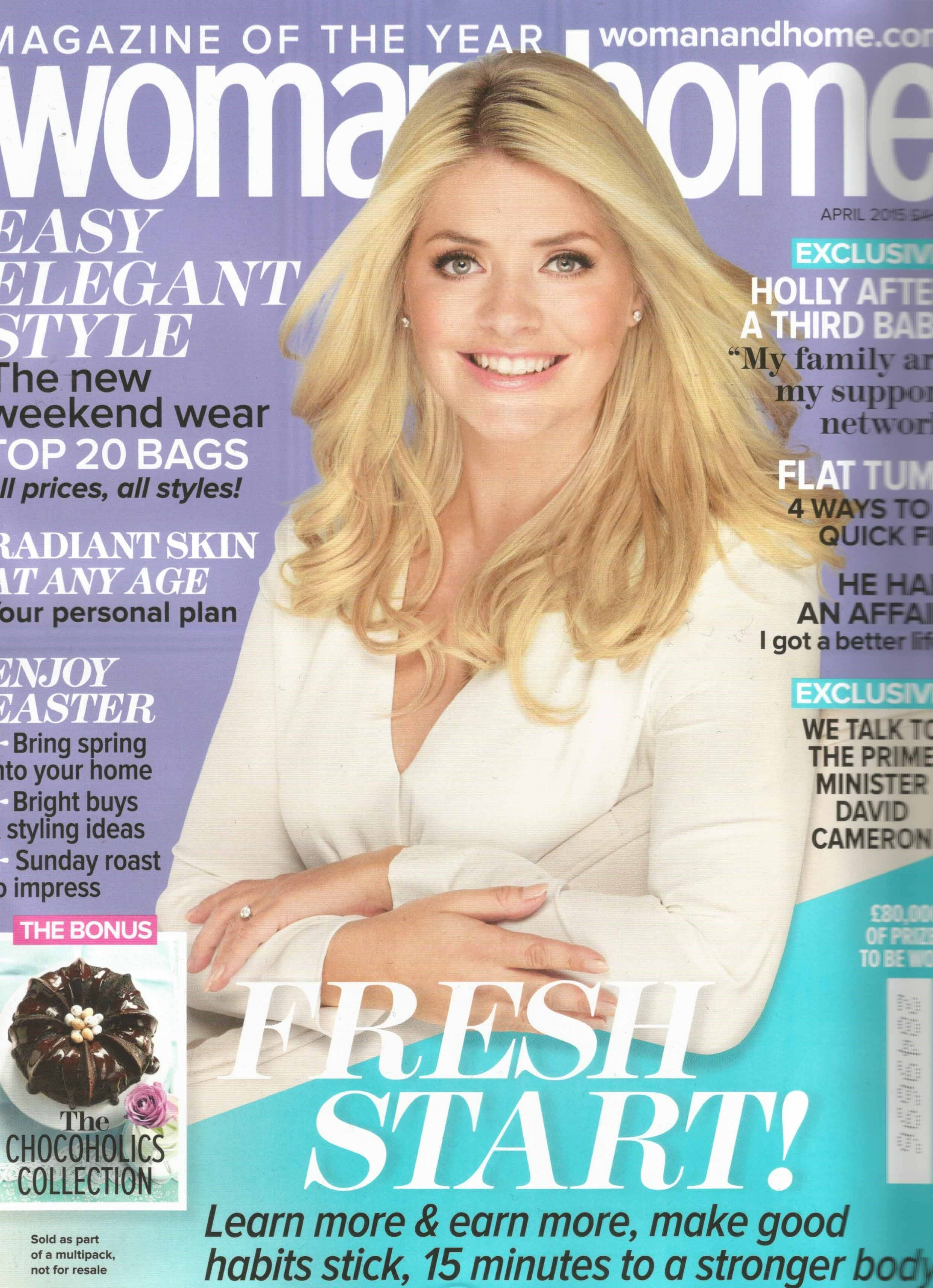 woman and home magazine cover