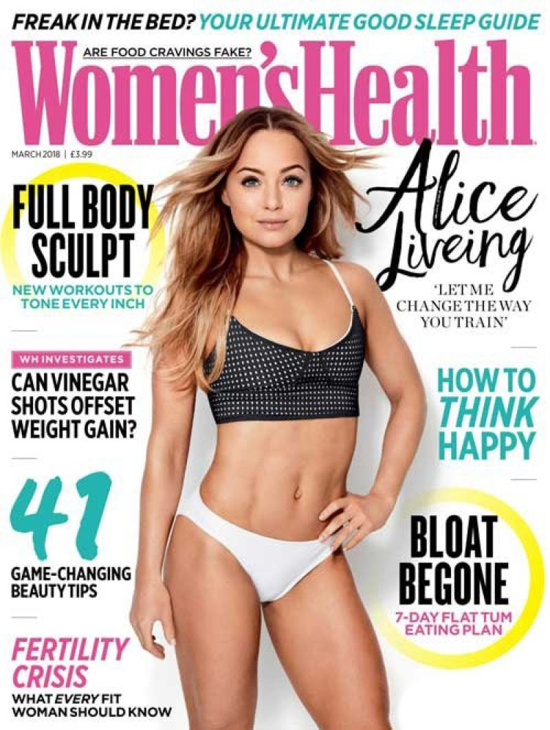 womens health magazine cover