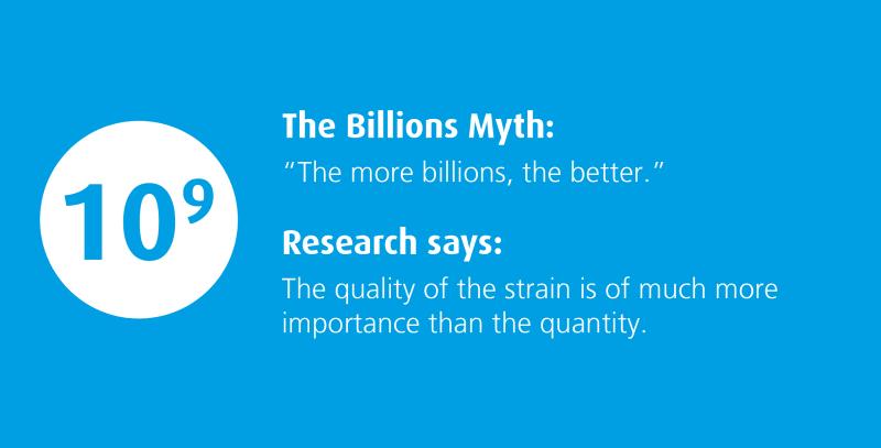 the billionth myth