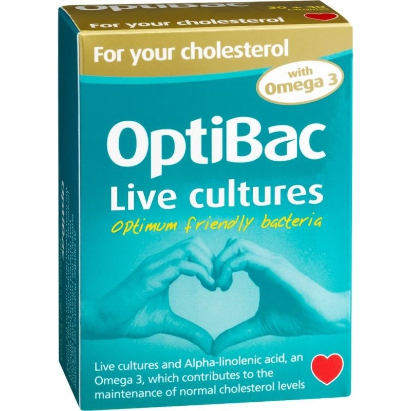 Optibac Probiotics - 'For your cholesterol'