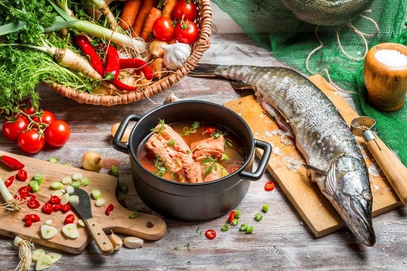 Healthy Mediterranean food sources