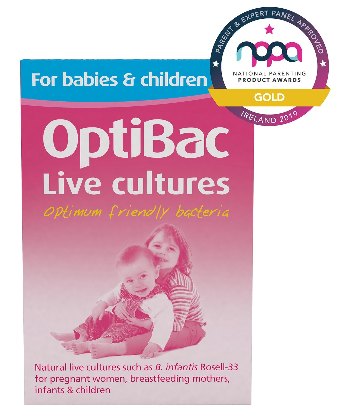 Optibac 'For babies & children' award 2019