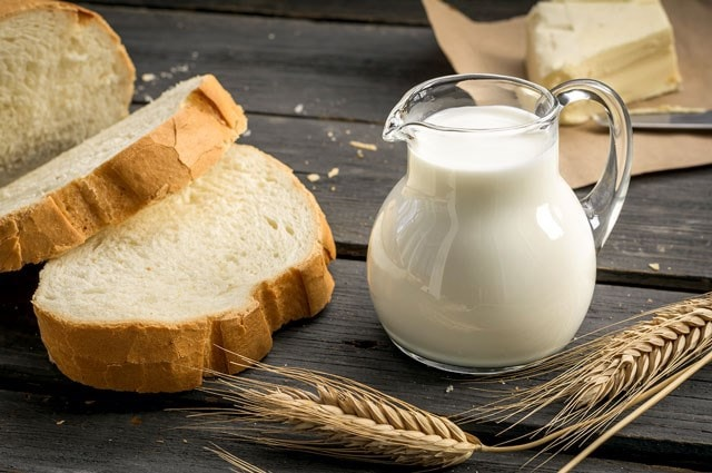 dairy and wheat