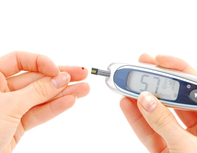checking for blood sugars