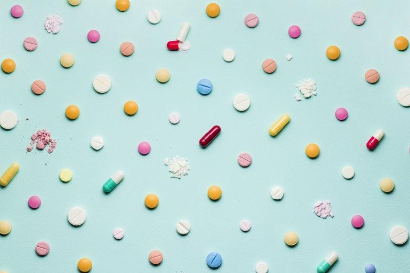 assortment of antibiotics
