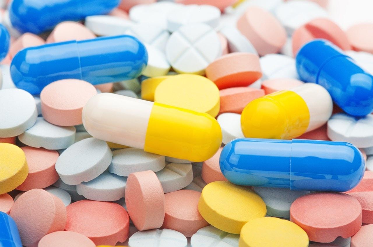 assorted antibiotics