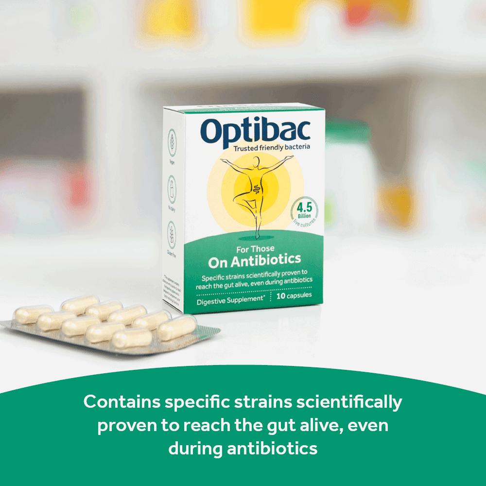 Optibac Probiotics For Those On Antibiotics - researched strains