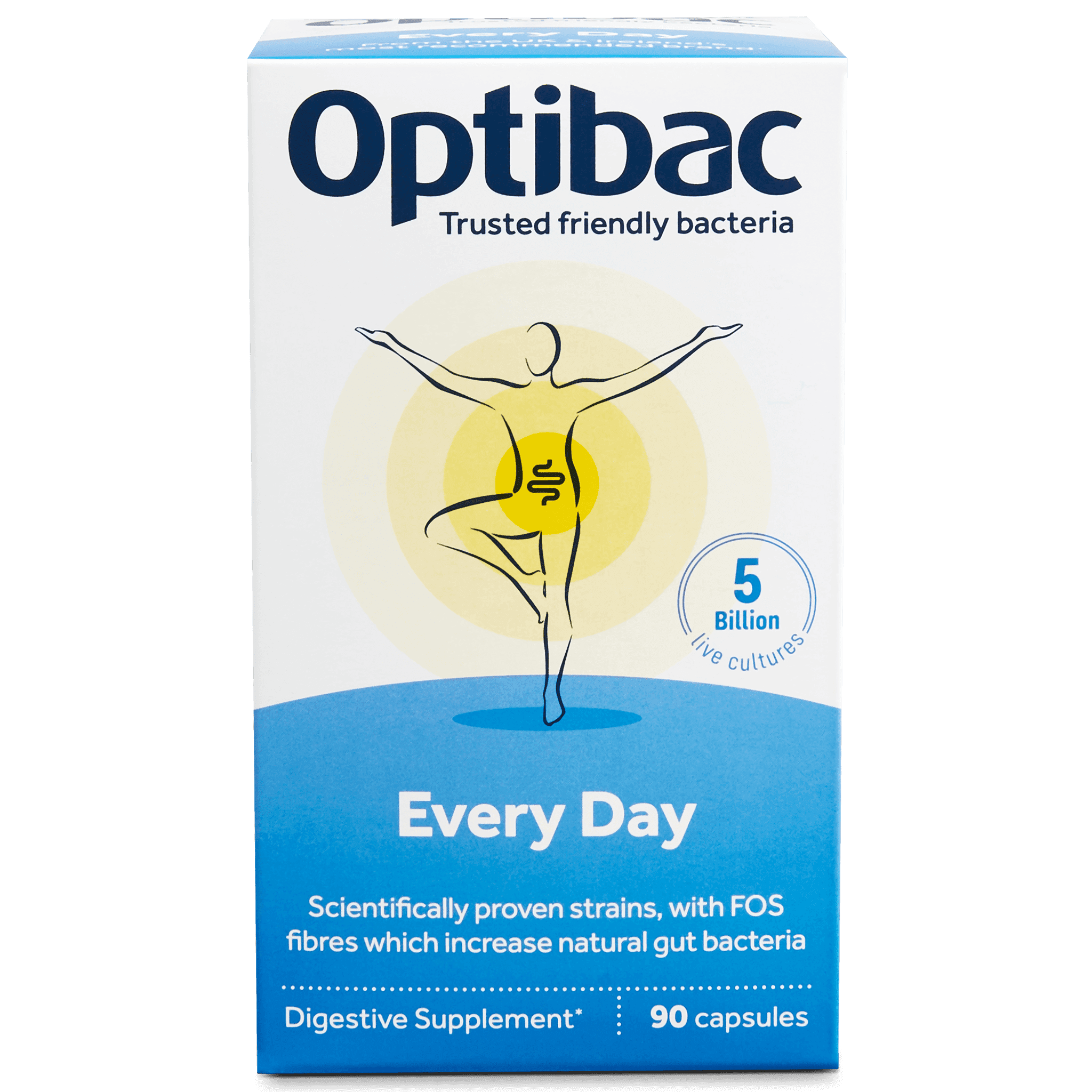 Optibac Probiotics For every day (90 capsules) pack front