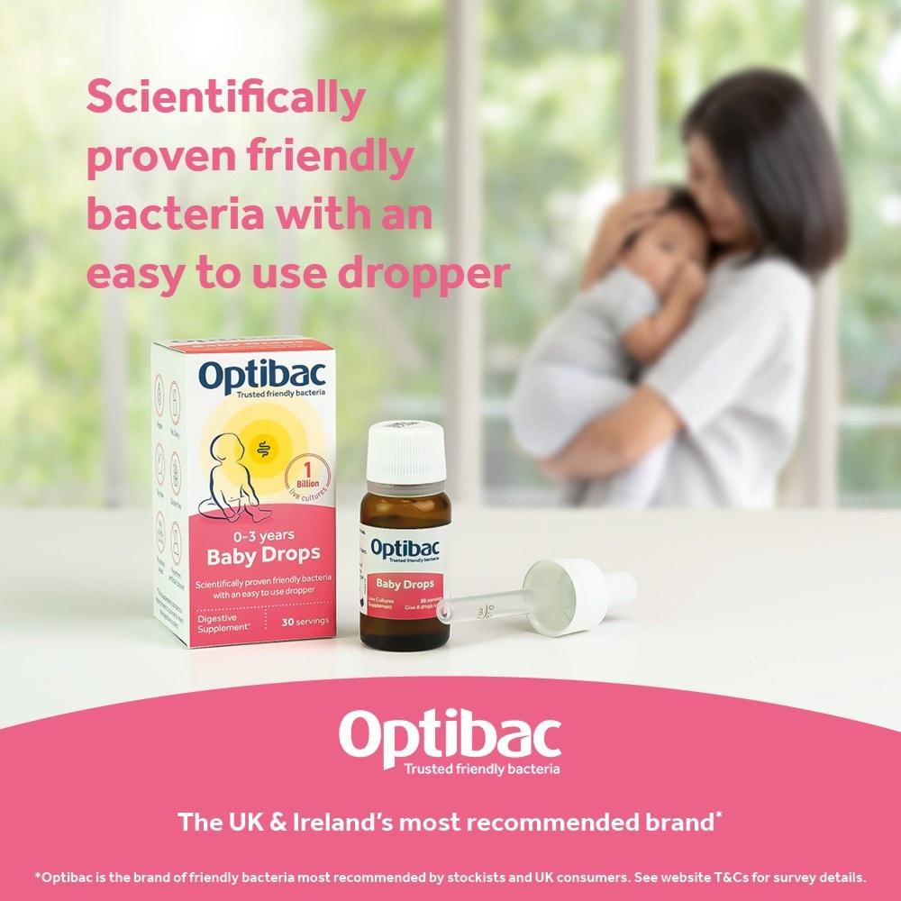 Optibac Probiotics Baby Drops won NPPA Awards