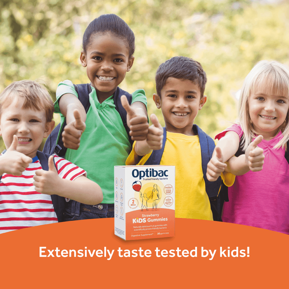 Optibac Probiotics Kids Gummies - tasted by kids