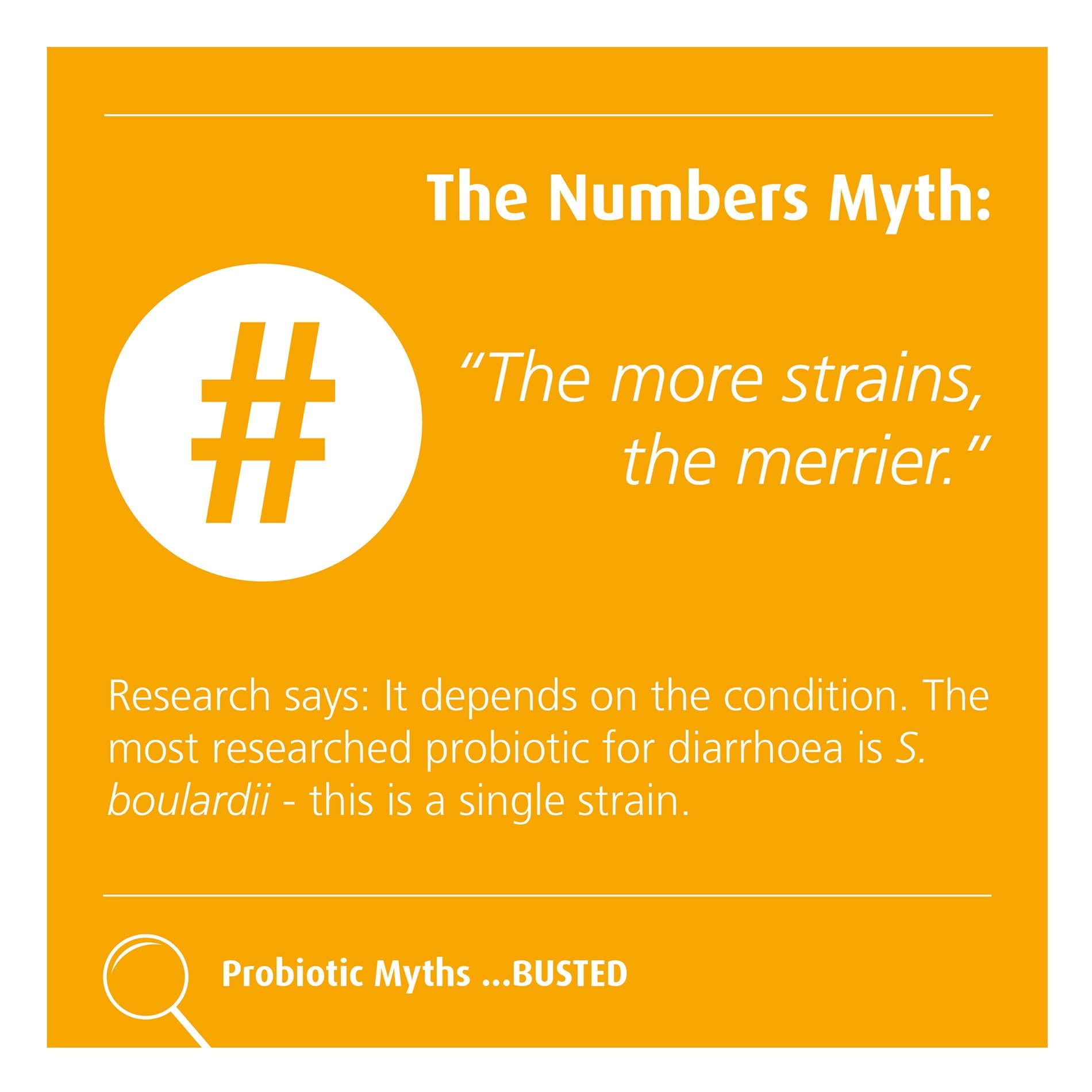 The number myth