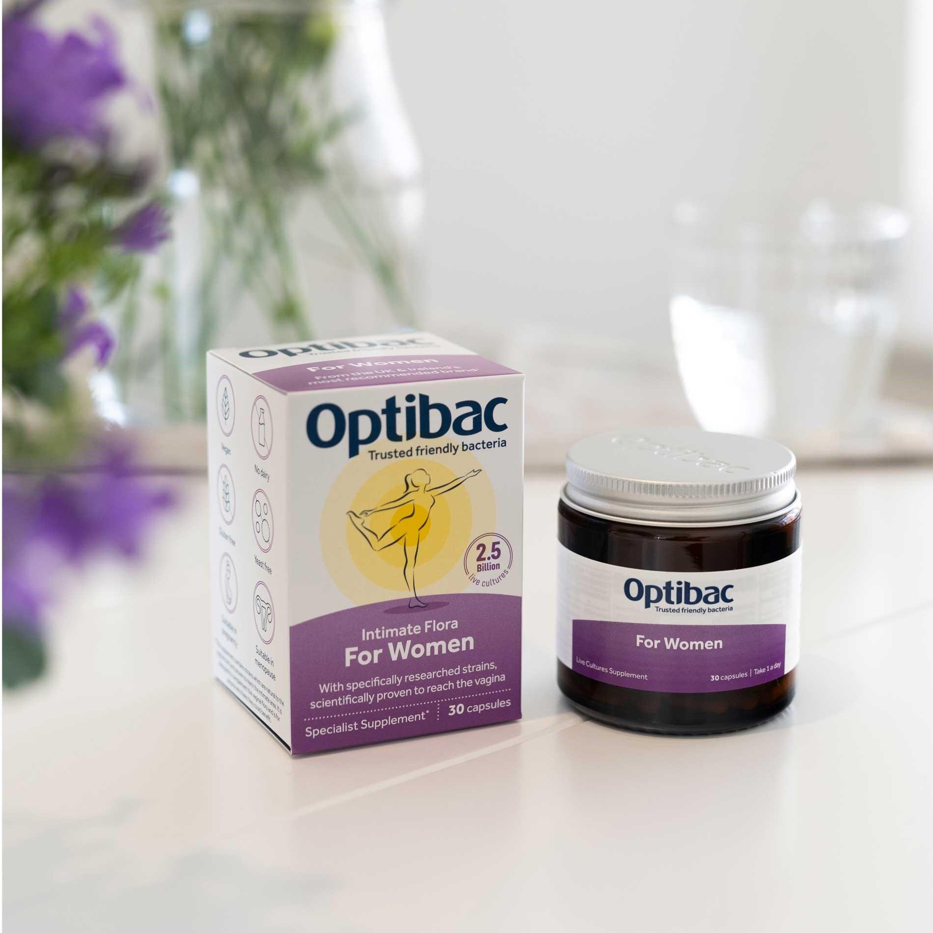OptiBac Probiotics For women