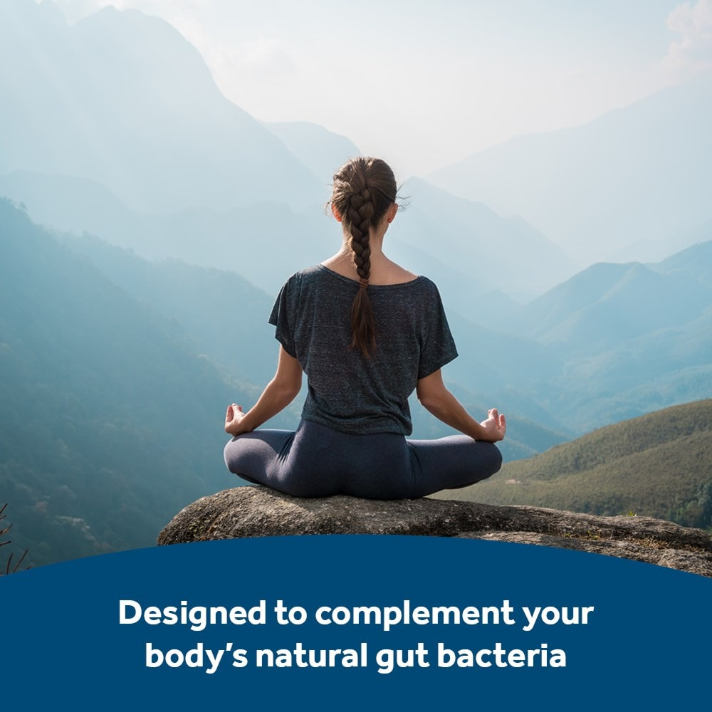 Optibac Probiotics Every Day MAX complements body's natural bacteria
