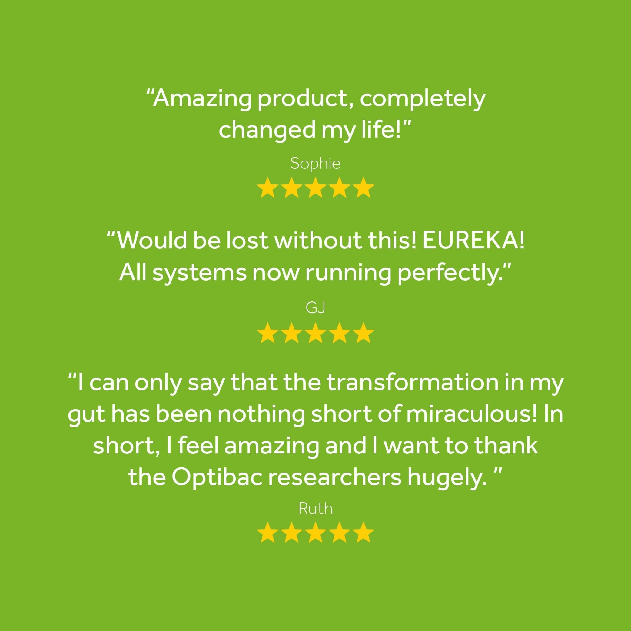 Great reviews of Optibac Probiotics Bifido & Fibre