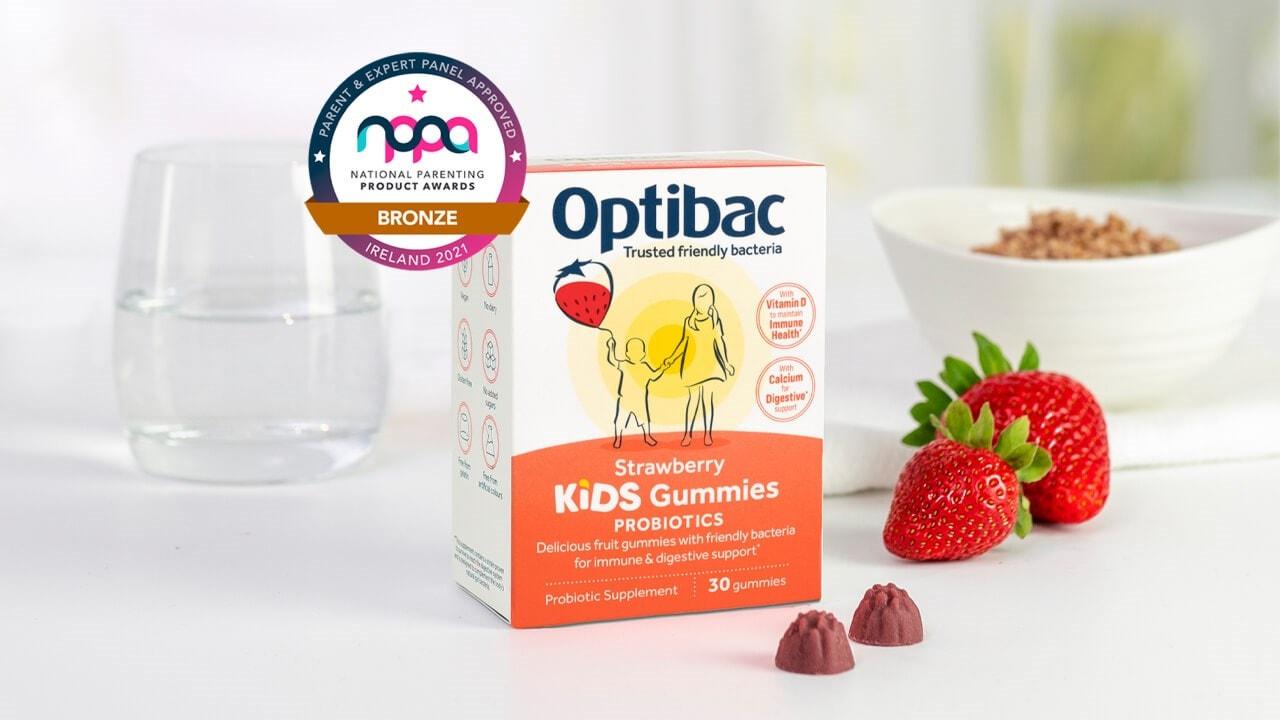 Optibac Probiotics Kids Gummies supplement