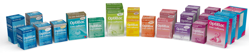 Full range of OptiBac Live cultures