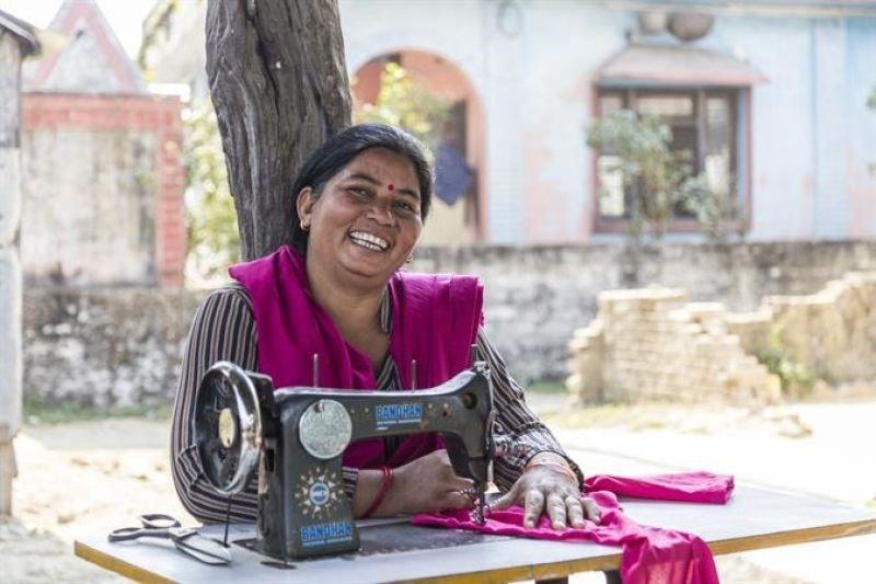 Photo of Kamala smiling