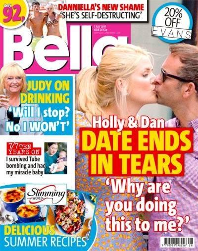 bella magazine cover page