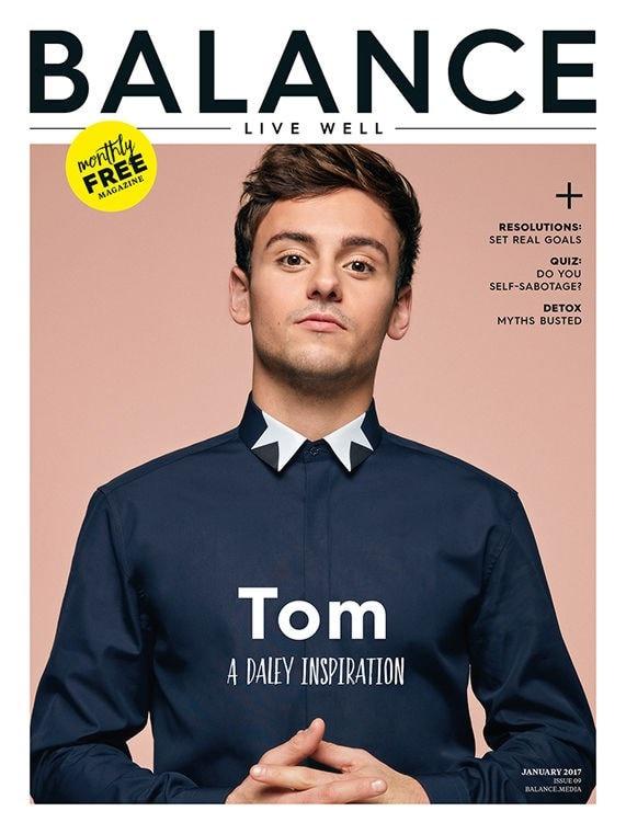 balance magazine front cover