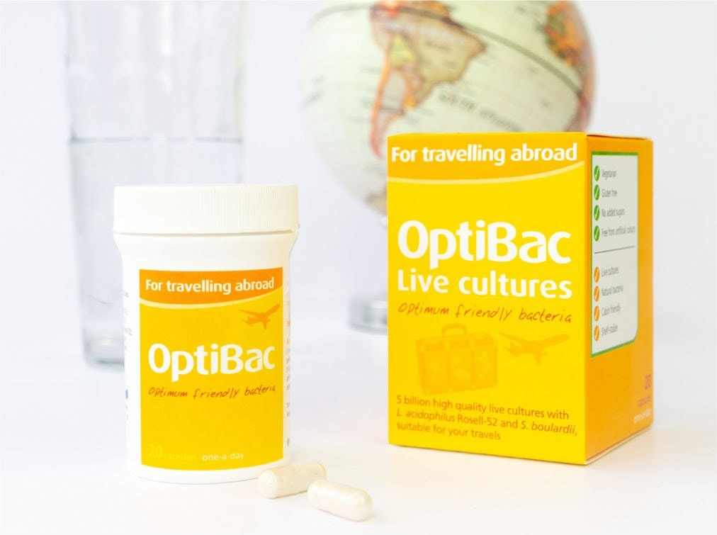 Optibac 'For travelling abroad'