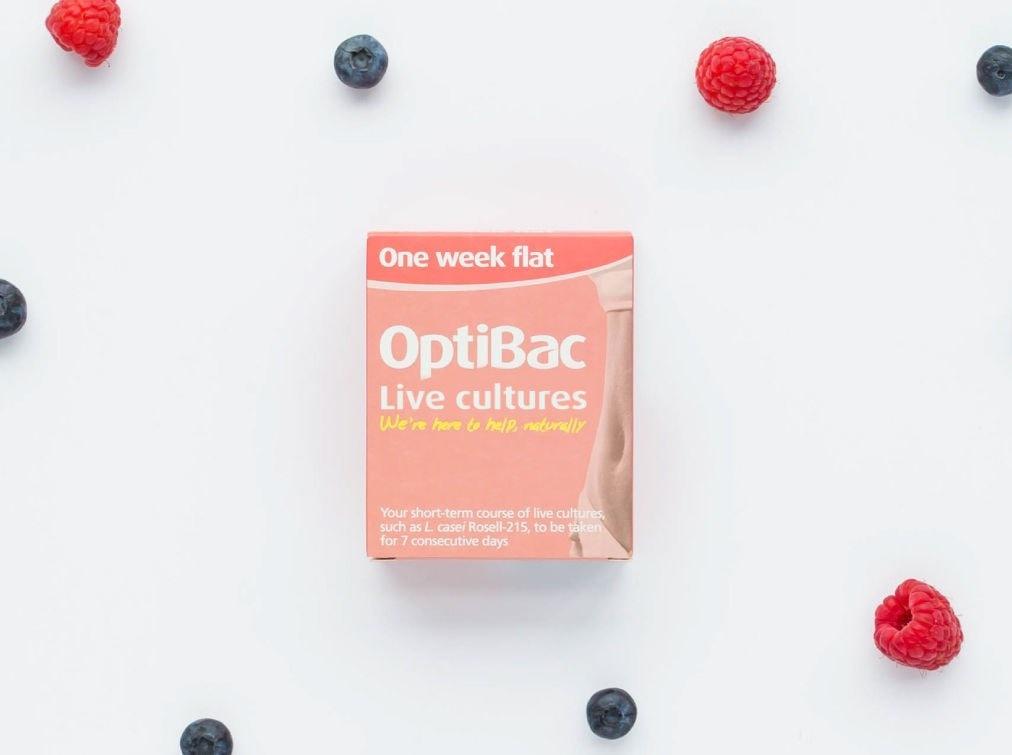 Optibac 'one week flat'