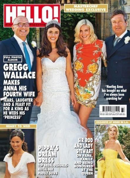 Hello Magazine front cover