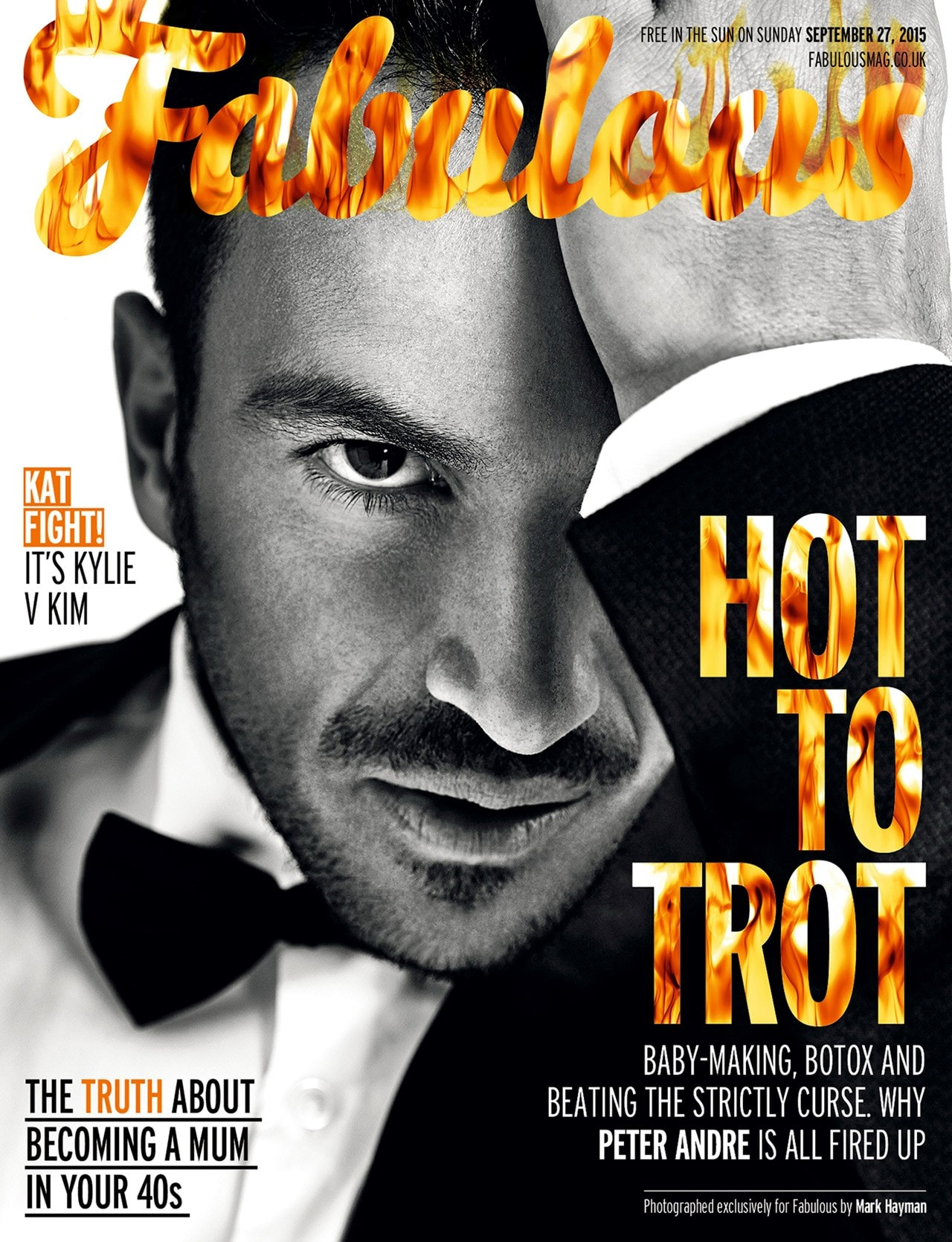 fabulous magazine cover